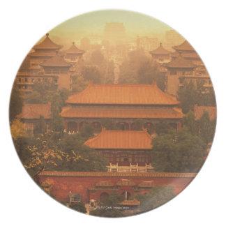 The Forbidden City Plates