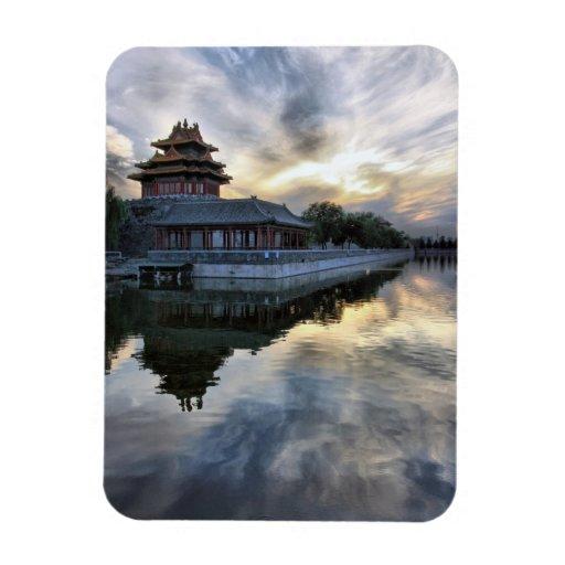 The Forbidden City Rectangular Magnet