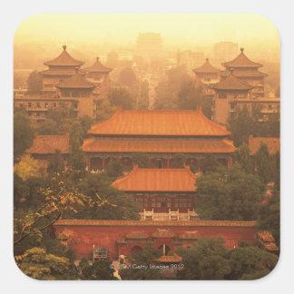The Forbidden City Square Sticker