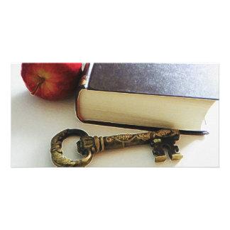 the forbidden fruit customized photo card