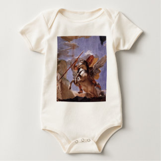 The Force of Eloquence, Bellerophon and Pegasus Baby Bodysuit