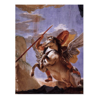 The Force of Eloquence, Bellerophon and Pegasus Postcard