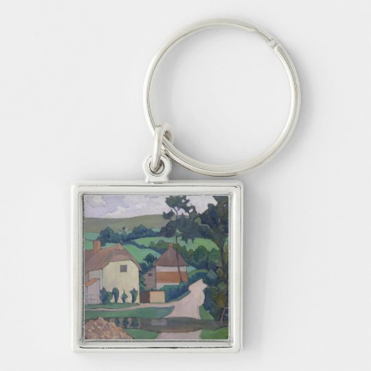 The Ford (oil on canvas) Keychain