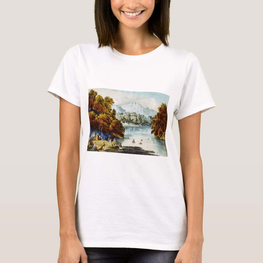 The Fords of the Jordan - 1856 T-Shirt - Best Selling Long-Sleeve Street Fashion Shirt Designs