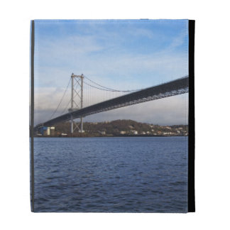 The foreground Forth Road Bridge is a suspension b iPad Folio Covers