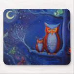 The Forest at Night - Mouse Mat Mouse Pad