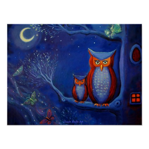 The Forest at Night - Print