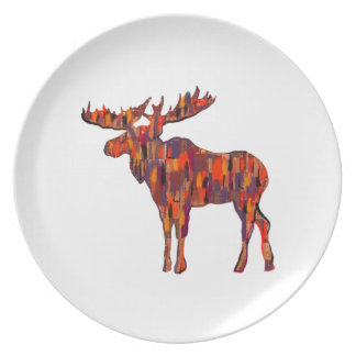 THE FOREST CALLS MELAMINE PLATE