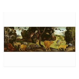 The Forest Fire by Piero di Cosimo Postcard