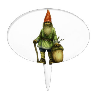 THE FOREST GNOME CAKE TOPPER