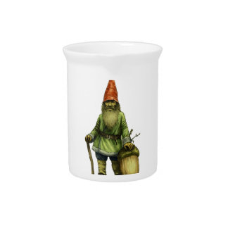 THE FOREST GNOME DRINK PITCHER