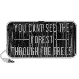 The Forest iPod Speaker