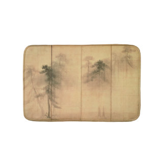 The forest of pines bath mat