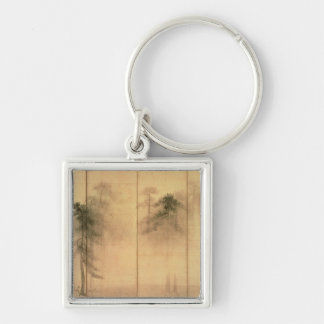 The forest of pines keychain