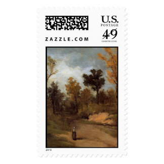 'The Forest Path' Stamp
