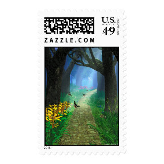 The Forest Path Stamp