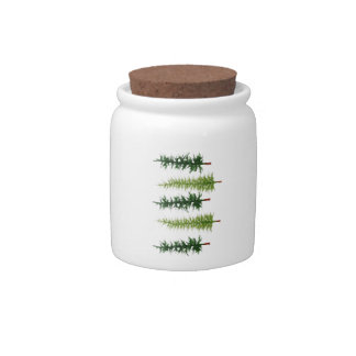 THE FOREST PERIMETER CANDY JARS