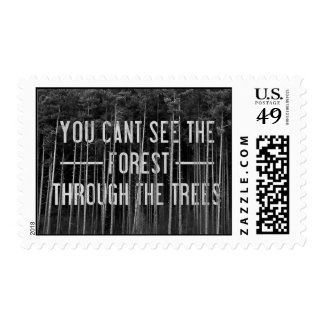 The Forest Postage Stamps