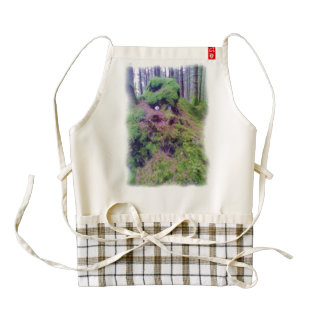 The Forest Troll Zazzle HEART Apron