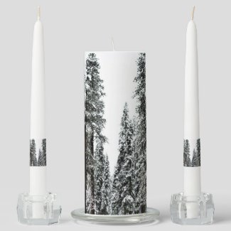 The Forest Unity Candle Set