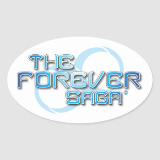 The Forever Saga - Oval Stickers