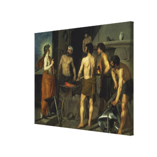 The Forge of Vulcan, 1630 Canvas Print
