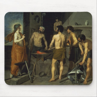 The Forge of Vulcan, 1630 Mouse Pad
