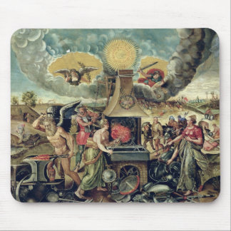 The Forges of Vulcan with Time Turning Weapons Mouse Pad