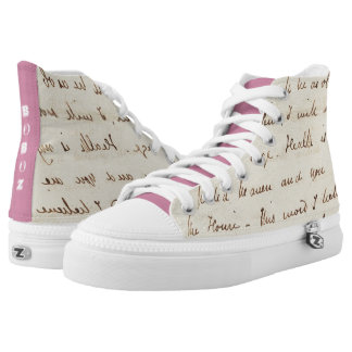 the forget me nots High-Top sneakers