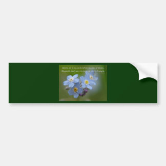 The Forget-Me-Nots of the Angels Bumper Stickers
