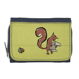 The forgetful squirrel wallet