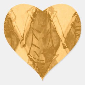 The Forgotten children Heart Sticker