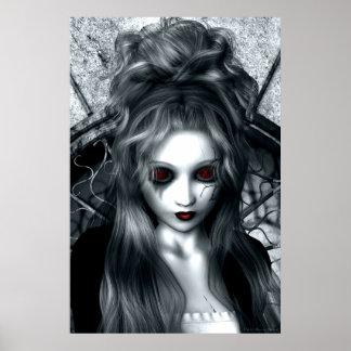 The Forgotten Tempest Gothic Artwork Poster