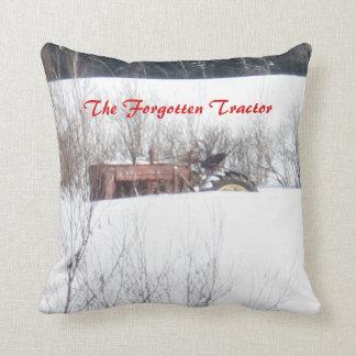 The Forgotten Tractor Pillos Throw Pillow