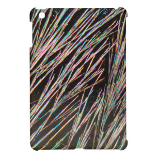 The form of fragrance: Coumarin crystals iPad Mini Cover