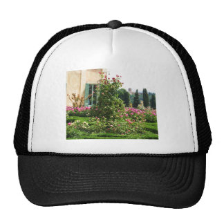 The formal rose garden trucker hat