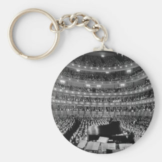 The Former Metropolitan Opera House 39th St 1937 Basic Round Button Keychain