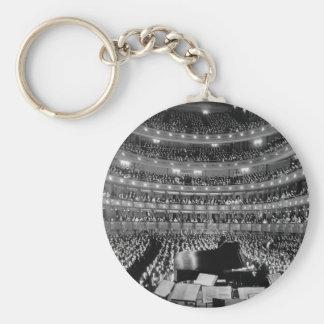 The Former Metropolitan Opera House 39th St 1937 Keychain