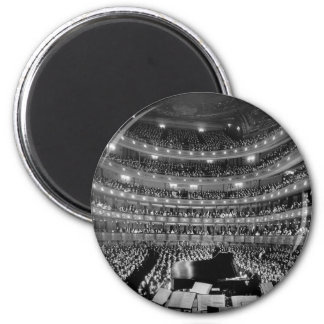 The Former Metropolitan Opera House 39th St 1937 2 Inch Round Magnet
