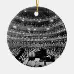 The Former Metropolitan Opera House 39th St 1937 Christmas Ornament