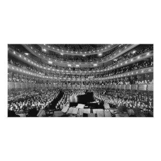 The Former Metropolitan Opera House 39th St 1937 Photo Greeting Card