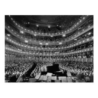 The Former Metropolitan Opera House 39th St 1937 Postcard