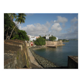The Fort Puerto Rico Framed Photo Poster