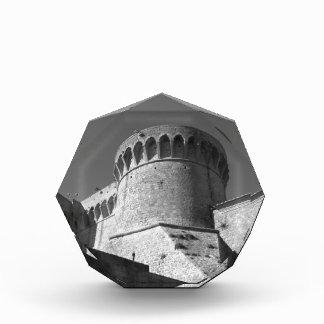 The Fortezza Medicea of Volterra . Tuscany, Italy Acrylic Award
