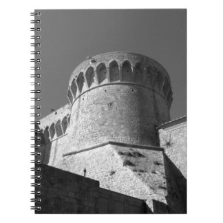 The Fortezza Medicea of Volterra . Tuscany, Italy Notebook