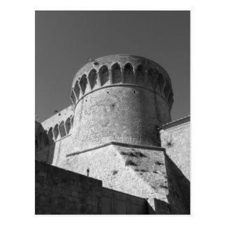 The Fortezza Medicea of Volterra . Tuscany, Italy Postcard