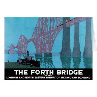 The Forth Bridge Card