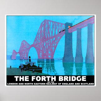 The Forth Road Bridge Poster