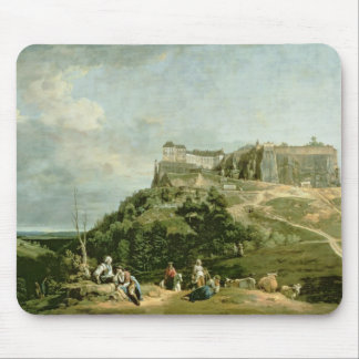 The Fortress of Konigstein, 18th century Mouse Pad