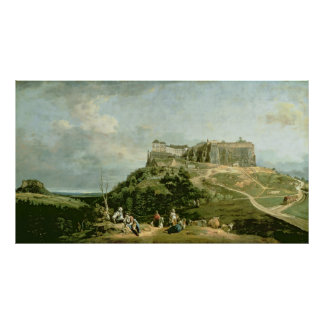 The Fortress of Konigstein, 18th century Poster